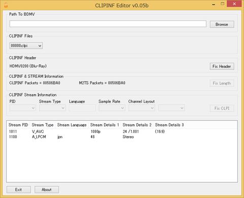 BDMV形式のファイル構成とファイル形式について